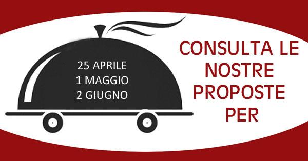 1 Maggio 25 Aprile 2 Giugno 2018 Ristorante ad Alberobello